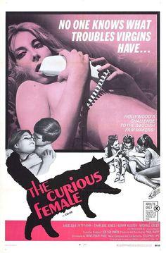The Curious Female sexploitation movie poster