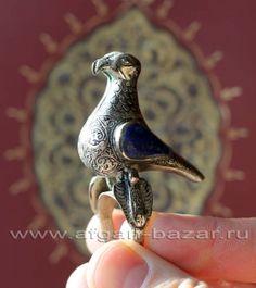 Афганский перстень в виде птицы