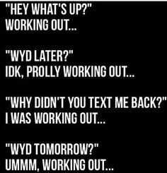 Mebut I say crossfit instead of working out Workout Memes, Gym Memes, Gym Humor, Fitness Humor, Funny Fitness, Funny Workout, Fitness Life, Health Fitness, Sport Motivation