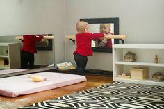 The Kavanaugh Report: DIY Montessori Pull-up Bar and movement area