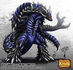 Colossal Kaiju Combat - Iracundus by KaijuSamurai.deviantart.com on @deviantART