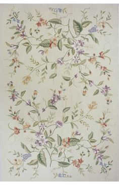 $5 Off when you share! Momeni Spencer Spencer 18 Beige Rug | Country & Floral Rugs #RugsUSA