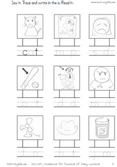 I love this site for phonics worksheets and activities.