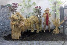 Durrow Laois Ireland Scarecrow Festival