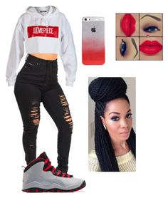 """""""Untitled #100"""" by comeagainsaywht ❤ liked on Polyvore featuring Dimepiece"""