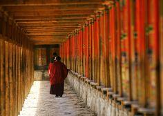 Xiahe Labrang Monastery Monk.#Silkroad