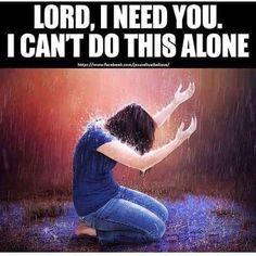 We need you, Jesus❤️