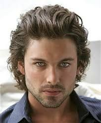 Image result for mens haircut for curly hair