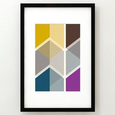 Mid-Century Modern Prints by Thedor Erkamps