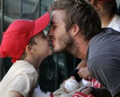 REAL Dads openly hug & kiss their kids and let them know they are loved everyday.  ~Skye