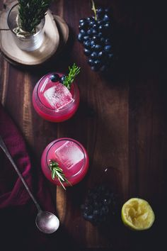 Zinfandel Grape, Rosemary + Gin Crush // The Bojon Gourmet