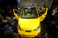 NYC Taxi's of the future.
