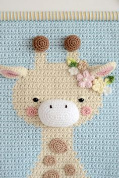 Crochet Panda, Giraffe Crochet, Crochet Lion, Crochet Baby Toys, Crochet For Kids, Crochet Wall Art, Crochet Wall Hangings, Macrame Patterns, Crochet Patterns