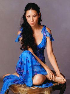 Lucy Liu softened D.