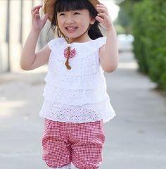 Fashion Stylish Baby Bowknot Elastic Cloth Lace Harem Girls Headband Adjustable