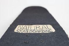 Tree Bark Skateboard Lets You Ride All-Natural