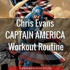 How Chris Evans Transformed into Captain America: Workout Routine and Diet