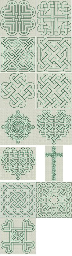 Celtic Knotwork RW Series 01 [Series 01] - $10.50 : The Country Needle Embroidery Designs®, Offers high quality, manually punched machine embroidery designs at affordable prices. Instant downloads available. Where quality designs and customer service are the priority! Join The Country Needle Embroidery Barn, our embroidery club for even more savings!