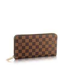 Zippy Organiser Damier Ebene Canvas - Small Leather Goods | LOUIS VUITTON