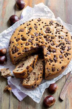Chestnut cake, soft and delicious! (Easy recipe with photos! Sweet Recipes, Cake Recipes, Dessert Recipes, Cake Cookies, Cupcake Cakes, Tolle Desserts, Torte Recipe, Sweet Corner, Chocolate Torte