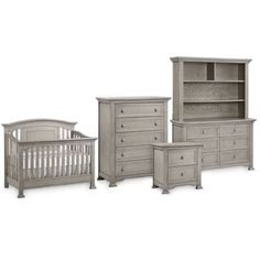 Munire Brunswick Nursery Furniture Collection in Ash Grey - buybuyBaby.com