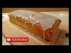 Pyszna babka cytrynowa - prosty przepis - YouTube Yummy Food, Yummy Recipes, Pudding, Sissi, Bread, Facebook, Youtube, Instagram, Cookie