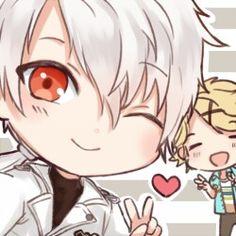 ZEN and Yoosung selfie