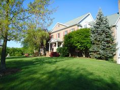 14 acre private horse farm! High Ceilings throughout the home make an already spacious house feel even larger!