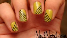 I like this idea of simple gradient greyscale striping.