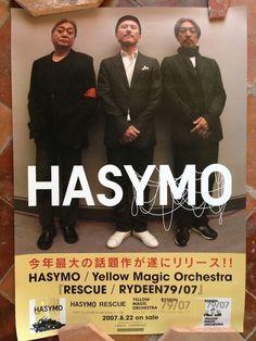 YMO HASYMO poster