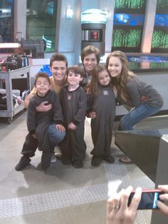 Lab Rats Spencer Boldman, Billy Unger, and Kelli Berguland.
