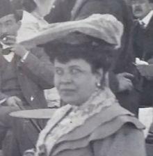 Tato dáma je po celém světě mezi 1902 a 1906. To bylo pravděpodobně v Praze a cestoval insie dvou mistrů: pán a pán Otto Plei