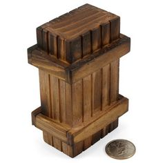 ThinkGeek :: Puzzling Wood Gift Box