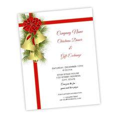 Folded Wedding Program Template Christmas Holly DIY Printable - Christmas flyer word template free