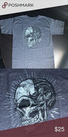 e7ff48c2790a9 ⬇  25 Vans Skull Shirt •Gray Vans Skull Shirt •Mens Small •Skull