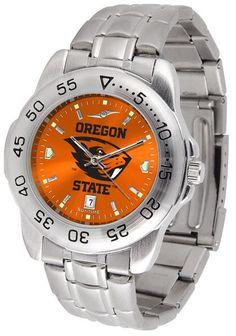 Mens Oregon State Beavers - Sport Steel AnoChrome Watch