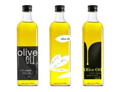 Italian Olive Oil by Nina Brandt, via Behance