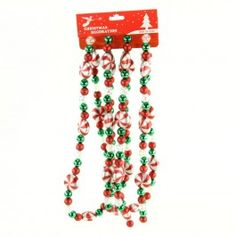 Peppermint candies garland