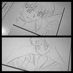 provocative-planet-pics-please.tumblr.com So heres the beggining of my anime drawing On the top is my favorite character from Tokyo Mew Mew (I watched it for years when I was six-seven) and down is Sailor Mars favorite from the Sailor Moon (Watched it when I was ten) Tomorrow I will finish two more can you guess who will it be?  #anime #animecharacters #favorite #childhood #memories #ages #kid #tokyomewmew #sailormoon #sailormars #planets #eyes #manga #evil #heroes #awesome #drawing…