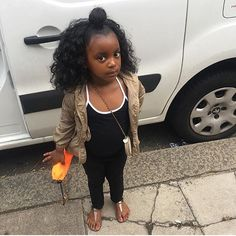 Kids fashion Black Kids Fashion, Cute Kids Fashion, Baby Girl Fashion, Toddler Fashion, Kid Swag, Beautiful Black Babies, Beautiful Children, Pretty Baby, Cute Hairstyles For Kids