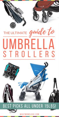 Best Lightweight Umbrella Strollers and Accessories Review and Comparison Chart