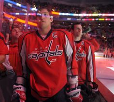 Ovechkin and Laich | Photo credit: Ricky Carioti
