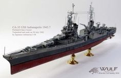 1/350 USS Indianapolis CA-35 (Academy)