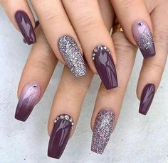 Elegant Nails, Stylish Nails, Trendy Nails, Cuffin Nails, Fun Nails, Acrylic Nails, Nail Nail, Manicure, Nail Polishes