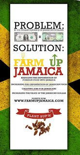 Farm Up Jamaica supported by AfroDeity