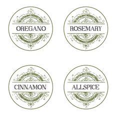 FilthyMuggle.com: Free Printable Spice Labels