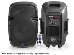 "Active 8"" Loudspeaker with Remote"