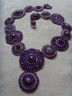 beaded jewelry - collier