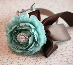 Tiffany Blue and Brown Wedding Reception | 113 Best images about Blue & Brown Wedding on Pinterest ...