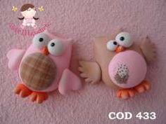 So flippin cute! Polymer Clay Owl, Sculpey Clay, Polymer Clay Figures, Polymer Clay Animals, Polymer Clay Projects, Clay Crafts, Clay Birds, Clay Figurine, Clay Ornaments
